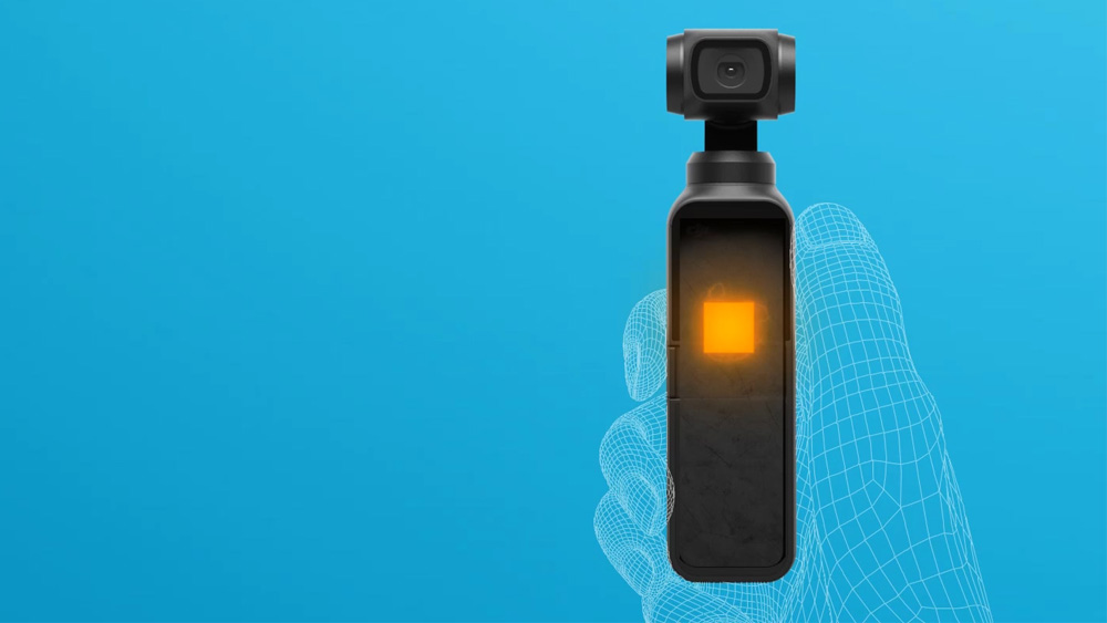 Noiseless Cooling System Osmo Pocket