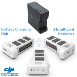Three Intelligent Batteries + Charging Hub for DJI Phantom 3