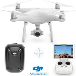 DJI Phantom 4 Camera Drone + DJI Hardshell Backpack