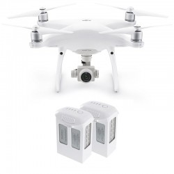 DJI Phantom 4 Pro Camera Drone + two additional Intelligent Flight Batteries 5350 mAh