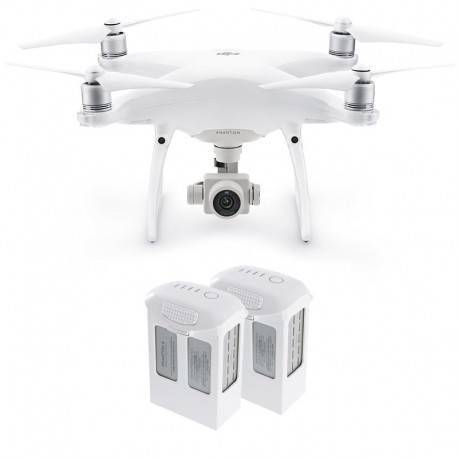 DJI Phantom 4 Pro Camera Drone with two additional batteries
