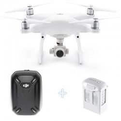 DJI Phantom 4 Pro Camera Drone + DJI Hardshell Backpack + Additional Intelligent Flight Battery 5870mAh