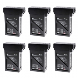 6x DJI Intelligent Flight Battery TB48S for Matrice 600