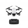 DJI Spark Camera Drone Alpine White + Remote Controller