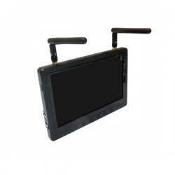 "7"" LCD monitor with diversity recevier"