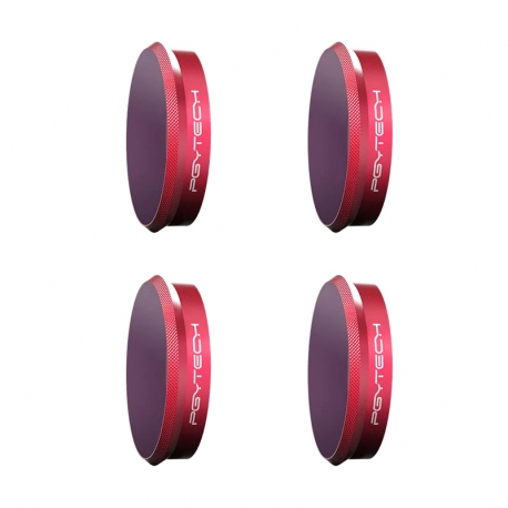 PGYTECH Osmo Action Filter ND Set Professional (ND8, ND16, ND32, ND64)