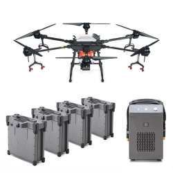 DJI Agras T16 Combo Agriculture Drone with 4 Batteries and Charger