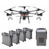 DJI Agras T16 Agriculture Drone with 4 Batteries and Charger