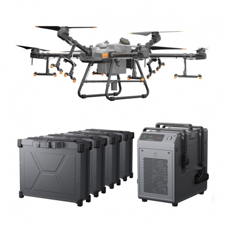 DJI Agras T30 Combo Agriculture Drone with 4 Batteries and Charger