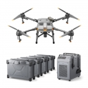 DJI Agras T10 Combo Agriculture Drone with 4 Batteries and Charger