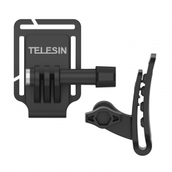 TELESIN Cap Clip Mount and Backpack Strap Clip Mount