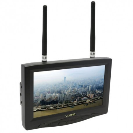 "7"" LCD screen 5,8GHz 32 channel"