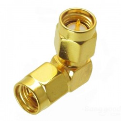 SMA male to male adapter