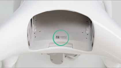 DJI Phantom 4 serial number