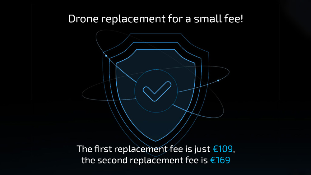 To Two Replacement Units Within One Year Free Shipping For DJI Mavic Pro Platinum