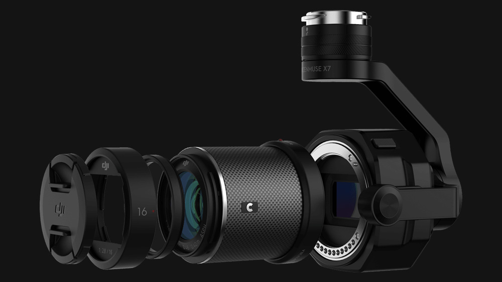 Introducing the DJI Zenmuse X7