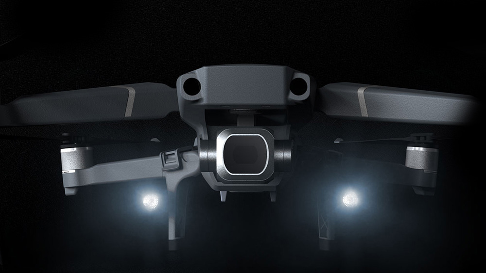 PGYTECH Landing Gear Extensions LED Headlamp Set for Mavic 2-2