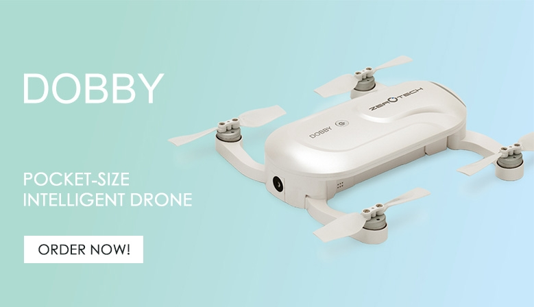 Order now your pocket-size drone Dobby from COPTERS.EU!