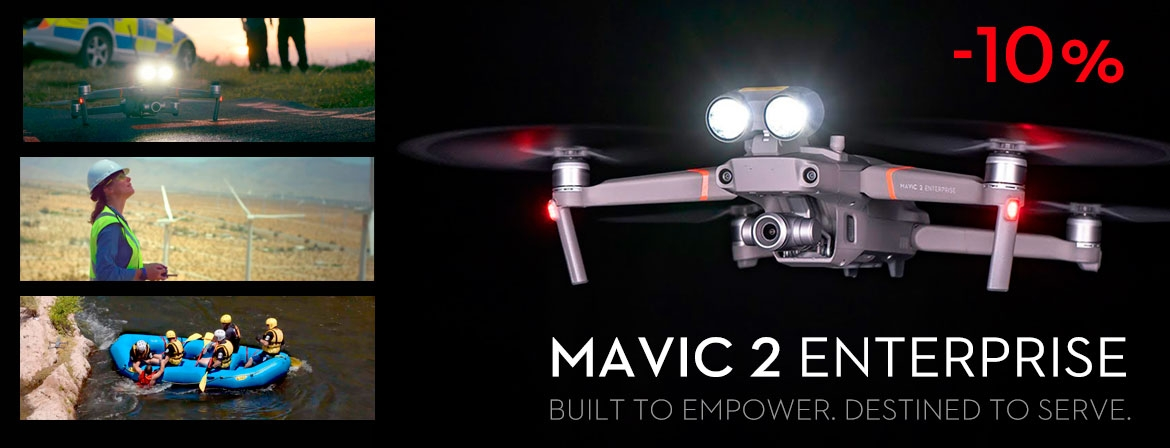 Buy Mavic 2 Enterprise with 10% Discount from COPTERS.GR!