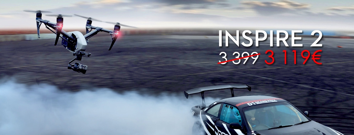 Order Inspire 2 at a great price only from COPTERS.EU