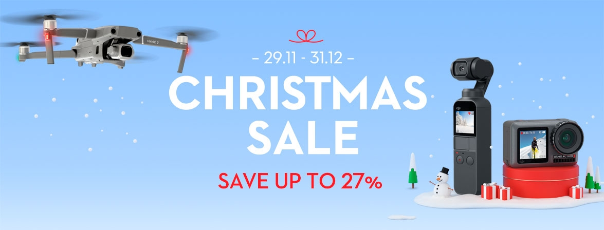 Choose your christmas presents today at a special price only from COPTERS.EU!