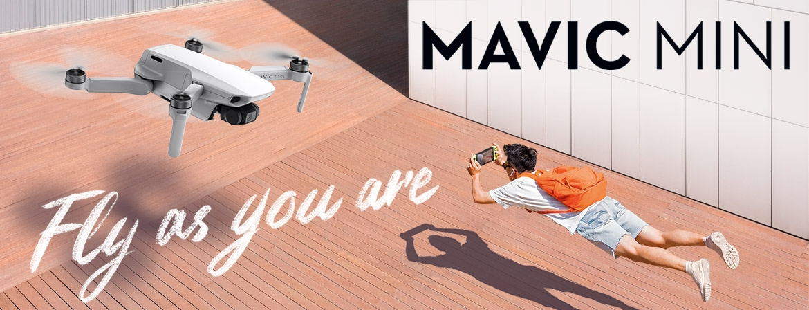 Order Mavic Mini Now and be the first to get it from COPTERS.EU!