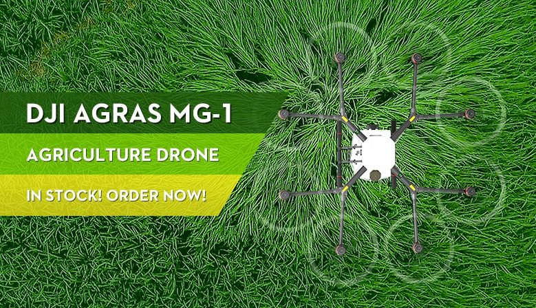 DJI Agras MG-1 is in stock at COPTERS.EU! Order now!