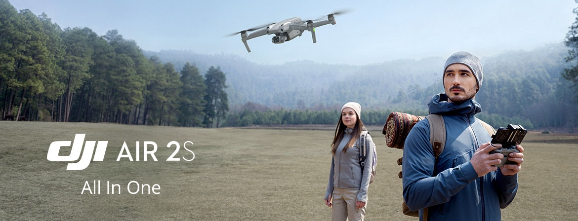 Choose your DJI Air 2S at a great price only at COPTERS.EU