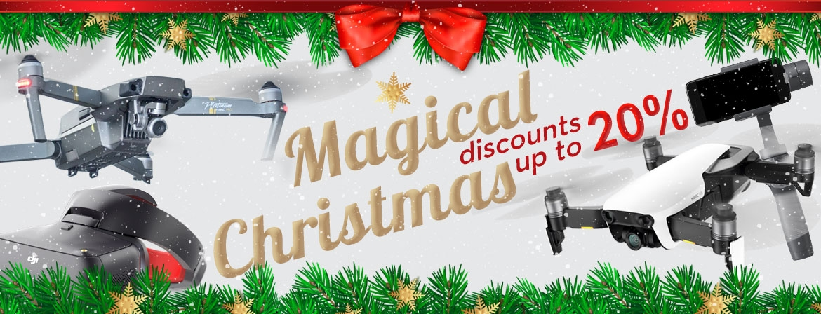 Magical Christmas at COPTERS.EU! Get your holiday present now on great price!