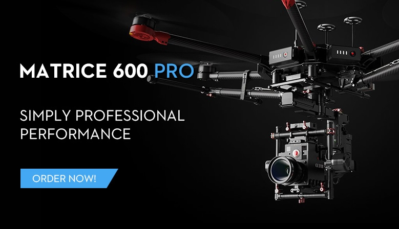 DJI Matrice 600 Pro is in stock at COPTERS.EU! Order now!