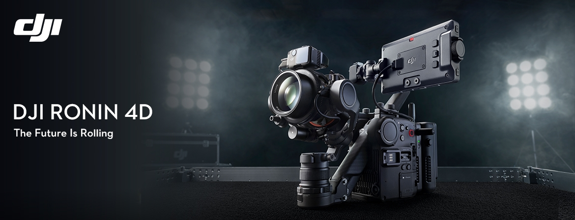 Here you can found the new DJI Ronin 4D with camera Zenmuse X9 from COPTERS.EU!