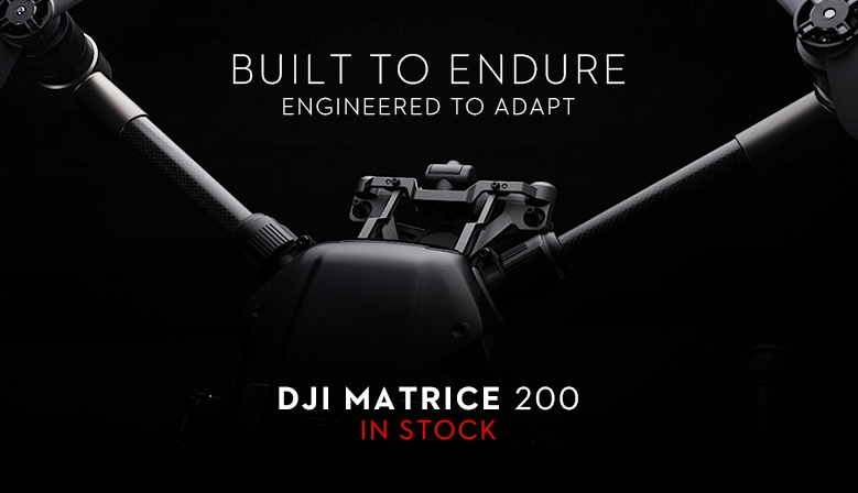 DJI Matrice 200 industrial drone - in stock at COPTERS.EU!